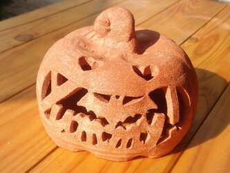 Φ約10cm「コウモリ+yummy!」ハロウィンランタンの画像