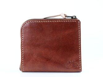 ポケットサイズのコインケース(チョコ)の画像