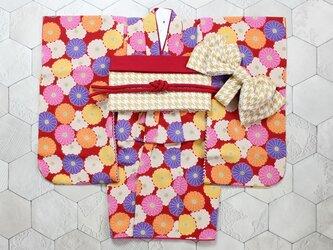 ◆七五三着物/モダン舞菊/90-110【受注生産】の画像