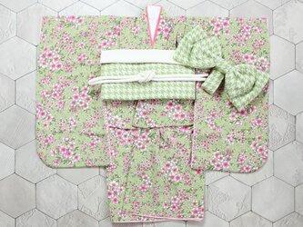 ◆七五三着物/枝垂れ桜/90-110【受注生産】の画像