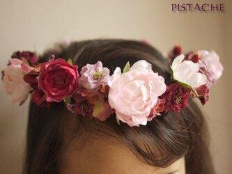 花冠(フラワーガール用)『森のプリンセス』の画像