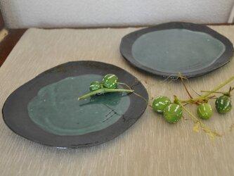 黒みかげ皿の画像