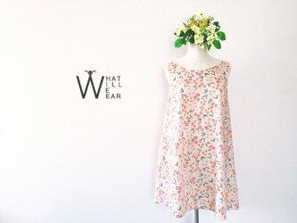 FLOWER FLARE DRESS (PINK)の画像