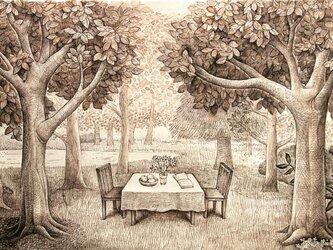 森の生活(原画)[original picture]の画像