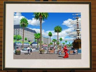 【港のカフェ】の画像