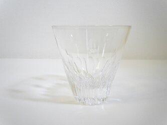 切子グラス プルメリア(クリア)の画像