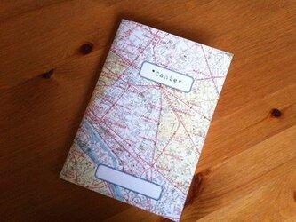 フランス・ノート/パリの地図の画像