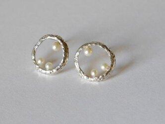 再販★Bubble pierce(sv)の画像