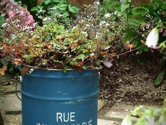 リメイクペール缶(青色)の画像