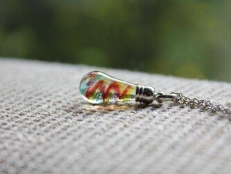 〜螺旋〜 雫玉のネックレス〈A-18〉の画像