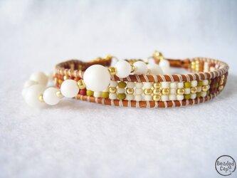 "Beading bracelet ""HOPE""の画像"