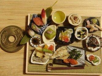 ★和の御膳・あじ開き定食・ししとう焼きを添えての画像
