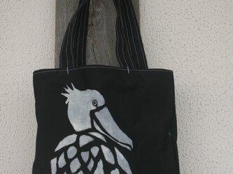 トートバッグ ハシビロコウ の画像
