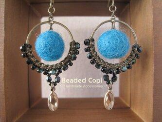 Cute ball pierce Turquoise ver.の画像