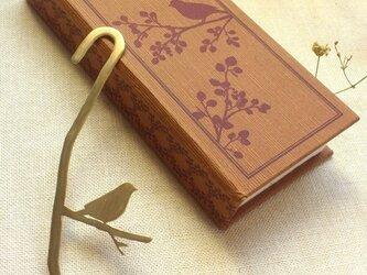 樹上の鳥 ブックマーカーの画像