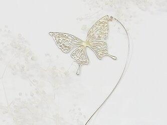 アゲハ蝶のモビールピアスの画像