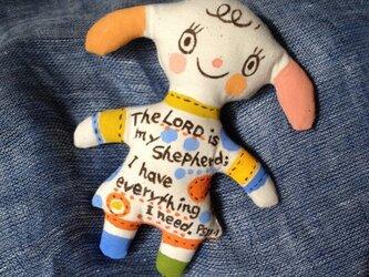 オーナメント 羊の女の子 の画像