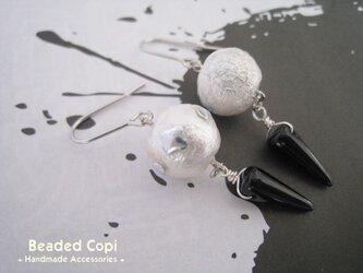 Rock-style pierce silver ver.の画像
