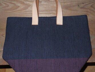 裂き織りバッグ NO12の画像