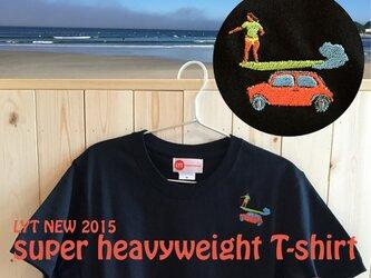 SURF 刺繍 ヘビーウェイト Tシャツの画像