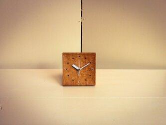 【受注製作品】table clock ケヤキの画像