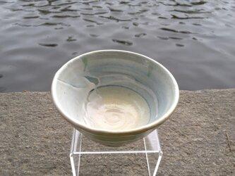 きみどりの飯茶碗(リング柄)の画像
