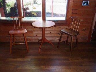 シェーカースタイル コーヒーテーブルの画像