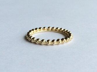 ダイヤモンドクロ フルエタニティリング gold colorの画像