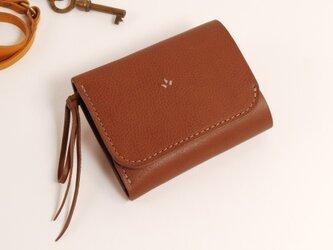 財布 wrap-S [ブラウン]の画像