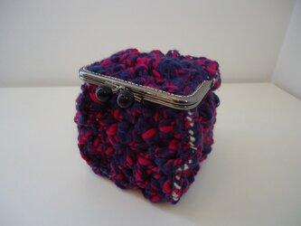 ニットボックス(紫)の画像