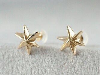 K10 Star earringsの画像