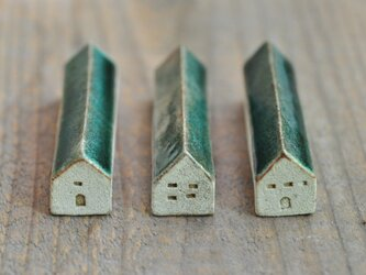 小さいお家(緑色)の画像