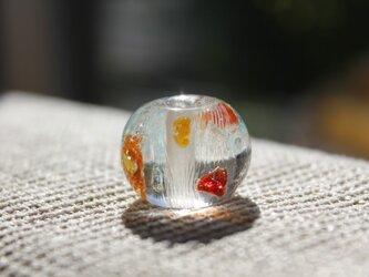 〜揺らめく金魚〜 蜻蛉玉の画像