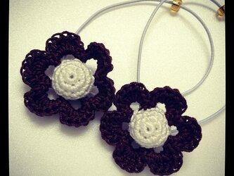 お花のモチーフゴム~その3の画像