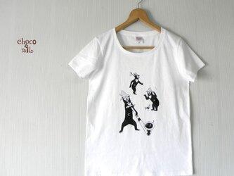 山マレーグマ Tシャツ(ホワイト)の画像