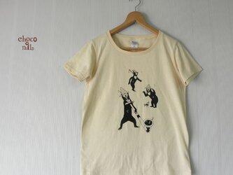 山マレーグマ Tシャツ(ナチュラル)の画像
