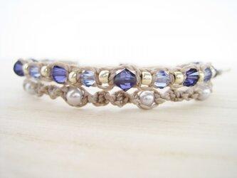Mauve braceletの画像