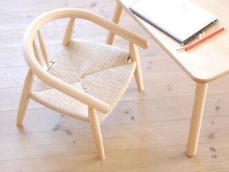 D様ご注文 子供椅子とテーブルのセット 特注品の画像