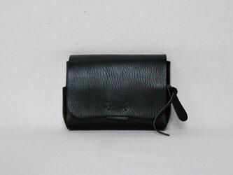 財布 小 黒の画像
