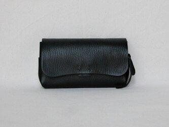 財布 中 黒の画像