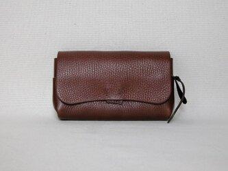 財布13大 こげ茶の画像