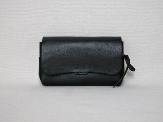 財布 大 黒の画像