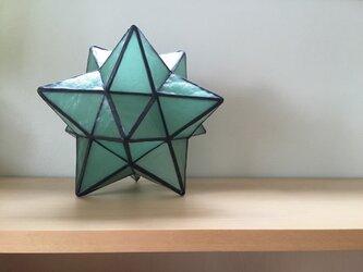 星のランプの画像
