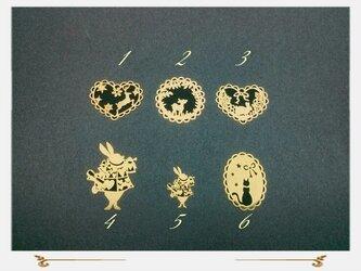 高品質メタルパーツ 6種類セットの画像