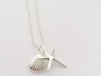 LITTLE LAGOON ORIGINAL shell&star fish necklaceの画像