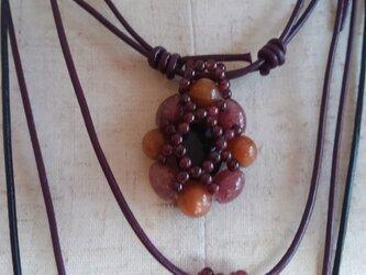 新春sele  天然石のネックレスの画像