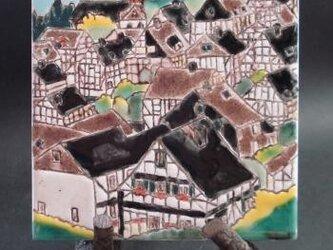 タイル画 ドイツの街から Ⅰの画像