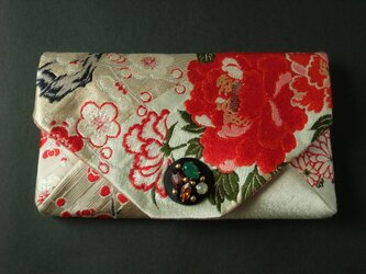 Peony clutch Pinkの画像