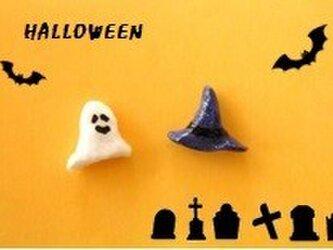 Halloween オバケ&魔女ハット 【受注制作】の画像