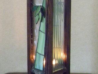 長型行灯(5月の竹)の画像